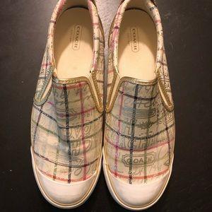 Ladies Coach Shoes Size 10